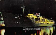 shi062242 - SS Ariadne Eastern Steamship Corp Ship Postcard Post Card