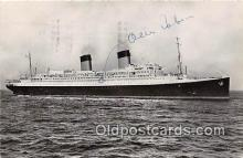 shi062251 - Ile de France French Line Ship Postcard Post Card