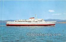 shi062254 - MV Coho Black Ball Transport Inc Ship Postcard Post Card