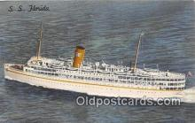 shi062258 - SS Florida Nassau Cruise Miami, Florida USA Ship Postcard Post Card