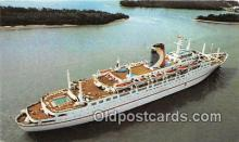 shi062259 - Mardi Gras Carnival Cruise Lines Ship Postcard Post Card