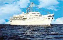 shi062262 - SS Bahama Star Eastern Steamship Lines, Inc Ship Postcard Post Card