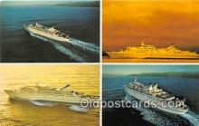 shi062263 - Norwegian Caribbean Lines Miami, Bahamas Ship Postcard Post Card