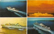 shi062265 - Norwegian Caribbean Lines New Port of Miami, Bahamas Ship Postcard Post Card