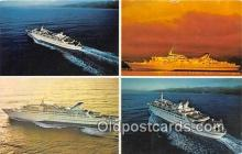 shi062272 - Norwegian Caribbean Lines New Port of Miami, Bahamas Ship Postcard Post Card