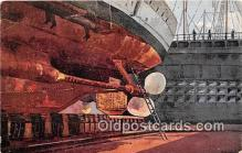 shi062274 - Ship in Drydock Wilhelmshaven Ship Postcard Post Card