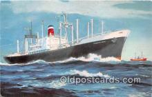 shi062279 - United States Lines Mariner  Ship Postcard Post Card