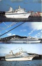 shi062281 - MS Sun Viking Curacao Ship Postcard Post Card