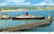 shi062283 - Douglas Head Isle of Man Ship Postcard Post Card