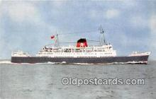 shi062291 - TSS Duke of Lancaster British Railways Ship Postcard Post Card