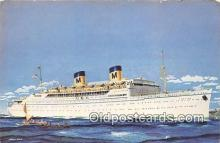 shi062301 - SS Lurline Matson Lines Ship Postcard Post Card