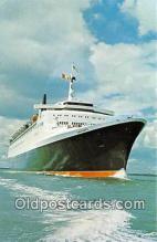 shi062303 - Cunard Queen Elizabeth 2  Ship Postcard Post Card