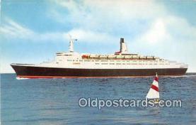 shi062304 - RMS Queen Elizabeth 2 Cunard Line Ship Postcard Post Card