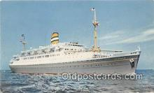 shi062309 - SS Maasdam  Ship Postcard Post Card