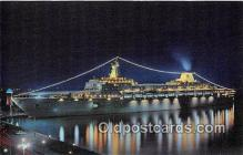 shi062310 - Oceanic Home Lines Ship Postcard Post Card