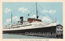 shi062313 - SS Yarmouth Yarmouth, Nova Scotia Ship Postcard Post Card
