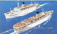 shi062318 - TSS Queen Anna Maria TSS Olympia Ship Postcard Post Card