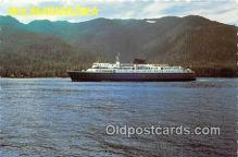 shi062323 - MV Matanuska Seattle, Washington Ship Postcard Post Card