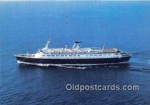 shi062325 - Stella Solaris Greek Registry Ship Postcard Post Card
