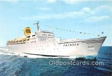shi062327 - TSS Farisea Sitmar Cruises Ship Postcard Post Card