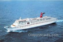 shi062329 - Fun Ship, Tropicale Carnival Cruise Lines Ship Postcard Post Card