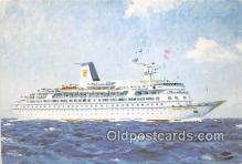 shi062333 - MS Golden Odyssey Royal Cruise Line Ship Postcard Post Card