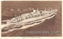shi062354 - Orient Line RMS Orosay  Ship Postcard Post Card