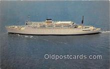 shi062362 - SS Atlantic American Export Isbrandtsen Lines Ship Postcard Post Card