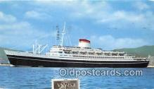 shi062365 - Cristoforo Colombo Nord America Ship Postcard Post Card