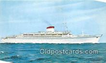 shi062368 - Cristoforo Colombo Nord America Ship Postcard Post Card