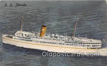 shi062372 - SS Florida Nassau Cruise Miami, Florida Ship Postcard Post Card