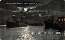 shi062374 - Clyde Line Steamer Apache Jacksonville, Florida Ship Postcard Post Card