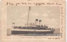 shi062378 - Clyde Steamer Queen Alexandra 1903 Ship Postcard Post Card