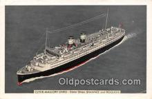 shi062381 - Clyde Mallory Lines Shawnee & Iroquois Ship Postcard Post Card