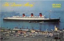 shi062385 - Queen Mary Long Beach, California Ship Postcard Post Card