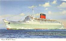 shi062387 - Cunard RMS Caronia  Ship Postcard Post Card