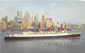 shi062397 - Cunard RMS Queen Mary 1965 Ship Postcard Post Card