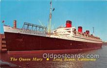 shi062399 - Queen Mary Long Beach, California Ship Postcard Post Card