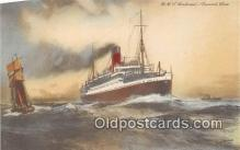 shi062406 - RMS Andania Cunard Line Ship Postcard Post Card