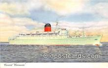 shi062407 - Cunard Carmania  Ship Postcard Post Card