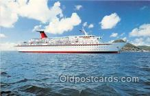 shi062414 - MV Cunard Princess Cunard Line Limited 1977 Ship Postcard Post Card