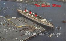 shi062418 - Queen Mary Long Beach, California Ship Postcard Post Card