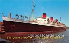 shi062427 - Queen Mary Long Beach, California Ship Postcard Post Card