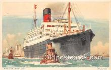 shi062430 - Samaria Cunard White Star Ship Postcard Post Card