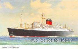 Cunard RMS Sylvania