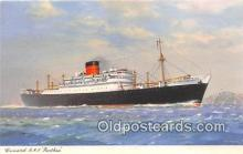 shi062432 - Cunard RMS Parthia  Ship Postcard Post Card