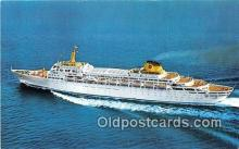 shi062458 - Oceanic Home Lines Ship Postcard Post Card