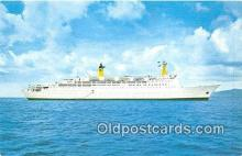 shi062461 - Doric Home Lines Ship Postcard Post Card