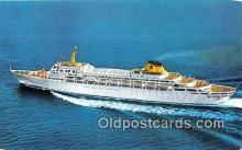 shi062462 - Oceanic Home Lines Ship Postcard Post Card