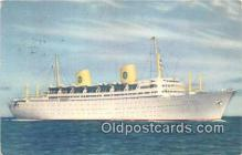 shi062467 - MS Gripsholm Swedish American Line Ship Postcard Post Card